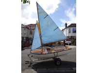 10ft Foreland Sailing Dinghy