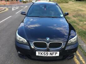 BMW 520d Touring Estate Business Edition Pro Sat Nav E61 FSH Black Leather Interior 2 owners