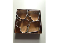 Antique/Vintage Sandwich Molds/Cutters Card Playing Shapes in Original Box