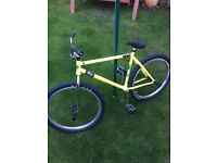 Fixed Gear Freestyle too spec bike hardly used fully custom built