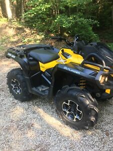 2015 can am outlander 650Xmr