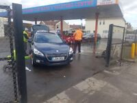 Established Hand Car Wash Valeting Business For Sale - Large Petrol Station - Busy Main Road