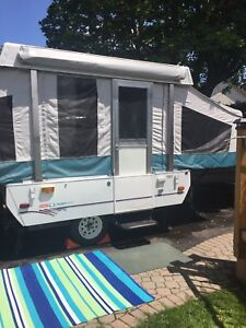 Coleman 8ft Tent trailer for rent