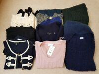 Size 14 bundle knit jumpers and cardigans