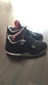 Jordan 4 Bred Size 13 $130