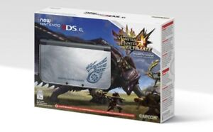 New Nintendo 3DS XL Monster Hunter 4 Ultimate Edition + MHG,MH4U