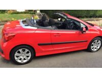 2006 Peugeot convertible 207.Mot till May 2018. Excellent condition