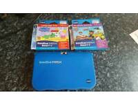 Vtech InnoTab 7 Inch Max Blue AND 2 games