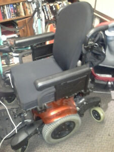 The Quickie QM-7 Series power wheelchairs