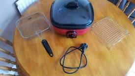 Portable electric cooker