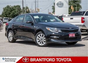 2016 Kia Optima LX+, Black, Push Start, Carproof Clean