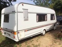 Swift Challenger Caravan 4berth DB, seating, end bathroom, shower toilet, oven fridge TV heater etc