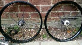 Shadow conspiracy custom wheelset
