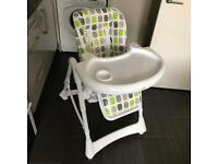 Babylo reclining highchair