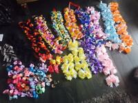 200 BOWS WHOLESALE JOBLOT BULK BUY LARGE HAIR CLIPS BOWS HAIR ACCESSORIES BUSINESS WORTH £500