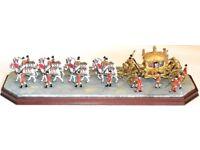 Border Fine Arts 'The Coronation 1953' (Gold State Coach)
