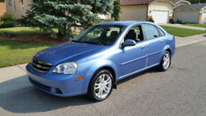 2004 Chevrolet Optra Sedan 5 speed