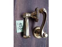 victorian brass door handles