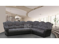 BRAND NEW TEXAS SOFAS***LEATHER & FABRIC ***LEFT/RIGHT CORNERS***3+2 SEAT SETS*** VARIOUS COLOURS