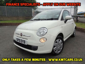 2010 Fiat 500 1.2 POP - ONLY 42000mls - KMT Cars