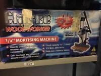 """Clarke 1/2"""" mortising machine"""