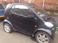 2001 LEFT HAND SIDE BLACK SMART