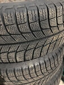 Michelin Winter Tires 205/55/16 on Wheels
