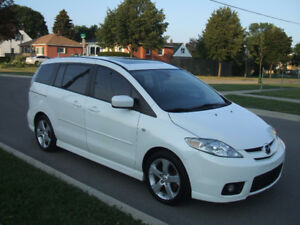 2007 Mazda Mazda5 GT - 6 Passenger, Extremely Clean