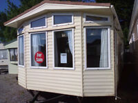 Used Static Caravan Willerby Aspen 37 x 12 ft / 2 bedrooms with double glazing & central heating