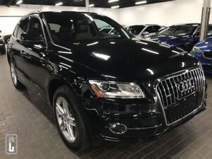 2015 Audi Q5 3.0L TDI DIESEL, S-Line, ONLY 44KM, PANO ROOF