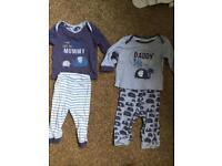 6-9 months boys Pajama sets bundle