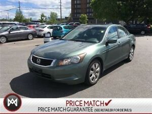 2010 Honda Accord Sedan EX-L - LEATHER, HEATED SEATS, SUNROOF