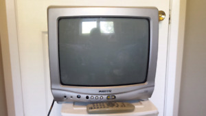"13"" TV with remote"