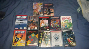 Super rare and collectable NES games