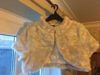 Faux fur cover up