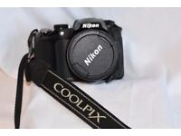 Nikon CoolPix P510 - Mint condition - 42x Optical Zoom !!!! Original Accsys. Great Camera