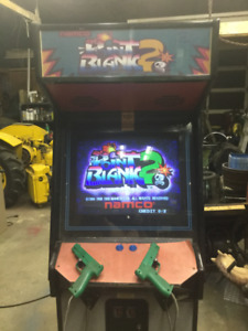 """Namco"" Point Blanc 2 upright video game"