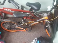 2 bikes for sale just need handle bars put on them properly