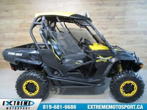 2011 Can-Am Commander 1000 X 58.88$/SEMAINE