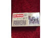 One Direction manicure and pedicure set