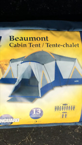 Broadstone Beaumont Cabin Tent - sleeps up to 13