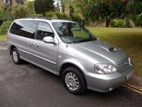 Kia Sedona 6.7 seater automatic