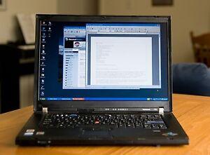 AUBAINE: Puissant ThinkPad T60 disque dur SSD, BATTERIE 5 HEURES