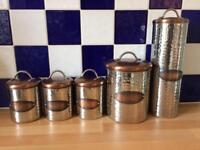 New storage / canisters for tea coffee etc