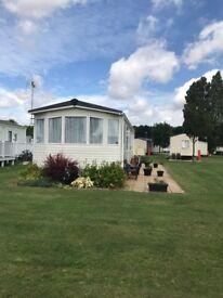 Luxury 3 bedroom Caravan, with full winter pack, on Mersea Island, 12 month park