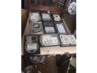 job lot mix ide 3.5 hard drive