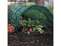 vegetable net tunnels