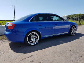 STUNNING AUDI S4 QUATTRO 6 SPEED MANUAL V8***** SWAP P/X ??