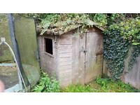 Used Garden Shed - 8ft by 6ft - Can Help Dismantle