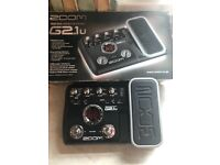 Zoom g2.iu guitar pedal